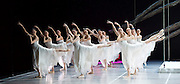 National Ballet of China <br /> The Peony Pavillion <br /> at Sadler's Wells, London, Great Britain <br /> press photocall / rehearsal <br /> 29th November 2016 <br /> <br /> corps <br /> <br /> <br /> Photograph by Elliott Franks <br /> Image licensed to Elliott Franks Photography Services