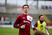 Northampton Town Debutant Luke Prosser during the Sky Bet League 2 match between Northampton Town and York City at Sixfields Stadium, Northampton, England on 6 February 2016. Photo by Dennis Goodwin.
