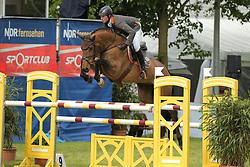 Meyer zu Hartum, Florian, Chacanua<br /> Redefin - Pferdefestival 2014<br /> Qualifikation - Kleine Tour<br /> © www.sportfotos-lafrentz.de/ Stefan Lafrentz