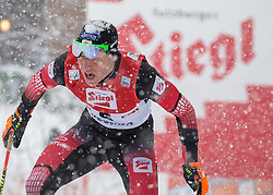 31.01.2016, Casino Arena, Seefeld, AUT, FIS Weltcup Nordische Kombination, Seefeld Triple, Langlauf, im Bild Bernhard Gruber (AUT) // Bernhard Gruber of Austria competes during 15km Cross Country Gundersen Race of the FIS Nordic Combined World Cup Seefeld Triple at the Casino Arena in Seefeld, Austria on 2016/01/31. EXPA Pictures © 2016, PhotoCredit: EXPA/ Jakob Gruber