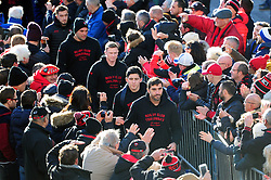 The Toulon team arrive at the Stade Mayol - Mandatory byline: Patrick Khachfe/JMP - 07966 386802 - 09/12/2017 - RUGBY UNION - Stade Mayol - Toulon, France - Toulon v Bath Rugby - European Rugby Champions Cup