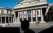 Pablo Vignali/ URUGUAY/ MONTEVIDEO/  Vista del Teatro Sol&iacute;s por la calle Buenos Aires, Ciudad Vieja. <br /> En la foto: Teatro Sol&iacute;s. Foto: Pablo Vignali / adhocFOTOS