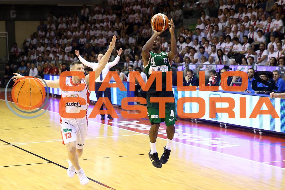Green Marques<br /> Grissin Bon Reggio Emilia - Sidigas Avellino<br /> Playoff gara 3<br /> Legabasket A 2016/2017<br /> Reggio Emilia 17/05/2017<br /> Foto Ciamillo-Castoria