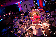 A table display at a commercial event at the chester racecourse