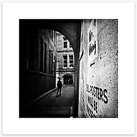 &quot;Bridge Lane&quot;, Sydney. From the Ephemeral Sydney street series.<br />