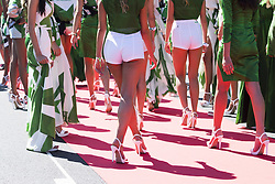 September 3, 2017 - Monza, Italy - Motorsports: FIA Formula One World Championship 2017, Grand Prix of Italy, .grid girls  (Credit Image: © Hoch Zwei via ZUMA Wire)