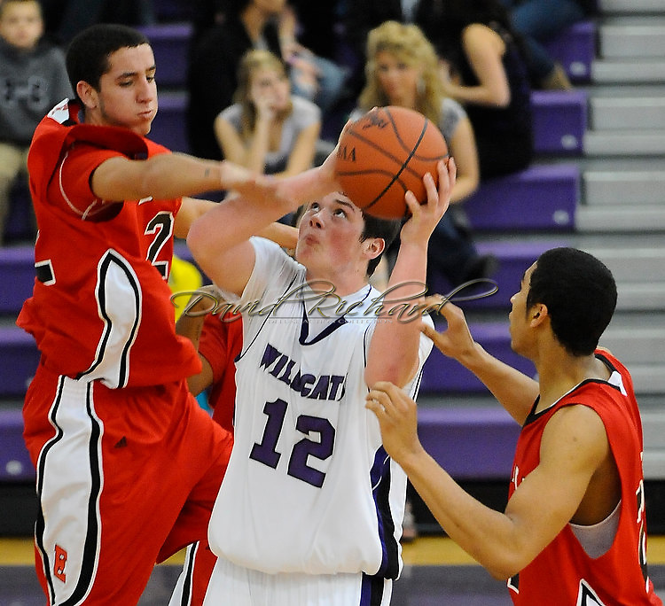 The Keystone boys varsity basketball team defeated visiting Elyria on December 21, 2010 at Keystone High School.