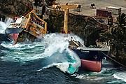The MV Tycoon ran aground on Christmas Island, Australia in - January 2012.