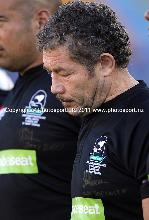 Kurt Sorensen. Australia and New Zealand Legends of League Christchurch Earthquake Appeal Match, Mt Smart Stadium, Auckland, New Zealand, Thursday 10 March 2011. <br />