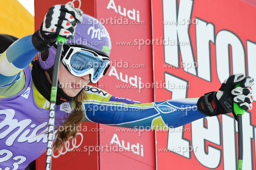 06.01.2011, Kälberloch, Zauchensee, AUT, FIS World Cup Ski Alpin, Ladies, Training, Bild zeigt Tina Maze (SLO), EXPA Pictures © 2011, PhotoCredit: EXPA/ S. Zangrando