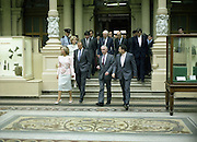 State Visit of King Juan Carlos and Queen Sophia of Spain to Ireland.<br /> 1986.<br /> 30.06.1986<br /> 06.30.1986.<br /> 30th June 1986.<br /> King Juan Carlos and Queen Sophia paid a state visit to Ireland at the invitation of President Hillery and the Irish people.<br /> The duration of the visit was three days.<br /> <br /> On their visit to Ireland, The King and Queen of Spain were invited to tour the National Museum,Kildare Street,Dublin and view some of the many treasures held there.