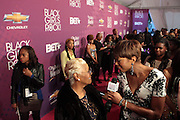 October 13, 2012- Bronx, NY: Atmosphere at the Black Girls Rock! Awards Red Carpet presented by BET Networks and sponsored by Chevy held at the Paradise Theater on October 13, 2012 in the Bronx, New York. BLACK GIRLS ROCK! Inc. is 501(c)3 non-profit youth empowerment and mentoring organization founded by DJ Beverly Bond, established to promote the arts for young women of color, as well as to encourage dialogue and analysis of the ways women of color are portrayed in the media. (Terrence Jennings)