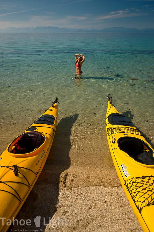 Tahoe sea kayak scenics