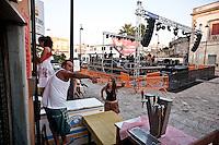 Concerto Notte della Taranta a Carpignano,  Salento, Puglia