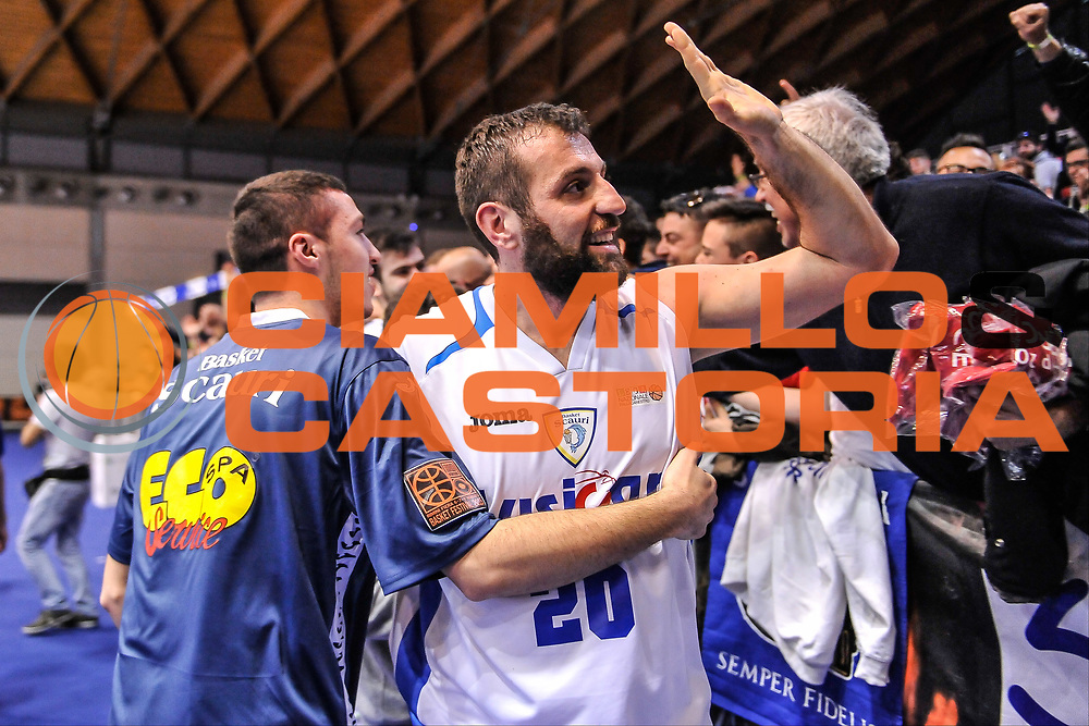 DESCRIZIONE : Final Eight Coppa Italia DNC IG Cup RNB Rimini 2015 Finale Basket Scauri - Alianz San Severo<br /> GIOCATORE : Angelo Odone<br /> CATEGORIA : Ritratto Esultanza Tifosi<br /> SQUADRA : Basket Scauri<br /> EVENTO : Final Eight Coppa Italia DNC IG Cup RNB Rimini 2015<br /> GARA : Basket Scauri - Alianz San Severo<br /> DATA : 08/03/2015<br /> SPORT : Pallacanestro <br /> AUTORE : Agenzia Ciamillo-Castoria/L.Canu