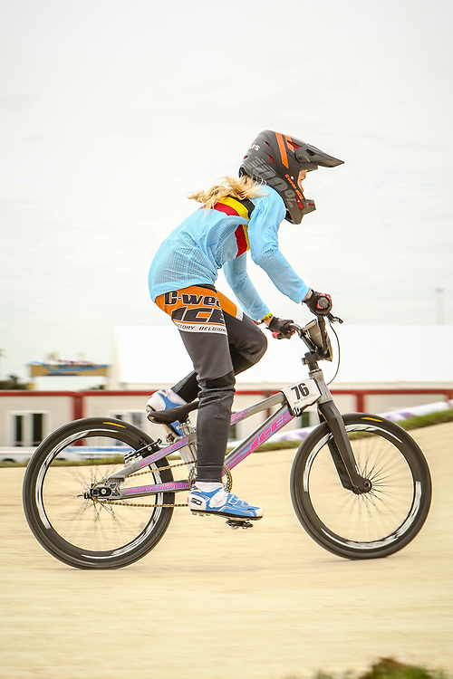 2018 UCI World Championships<br /> Baku, Azerbaijan<br /> 12 Girls #76 (WOLFS Lotte) BEL ICE