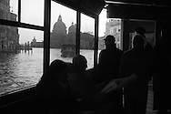 Italy. Venice. lagoon, santa maria del Salute church view from San Marco quays  /      la lagune, eglise santa maria del salute vue depuis les quais de San Marco  Venise  Italie