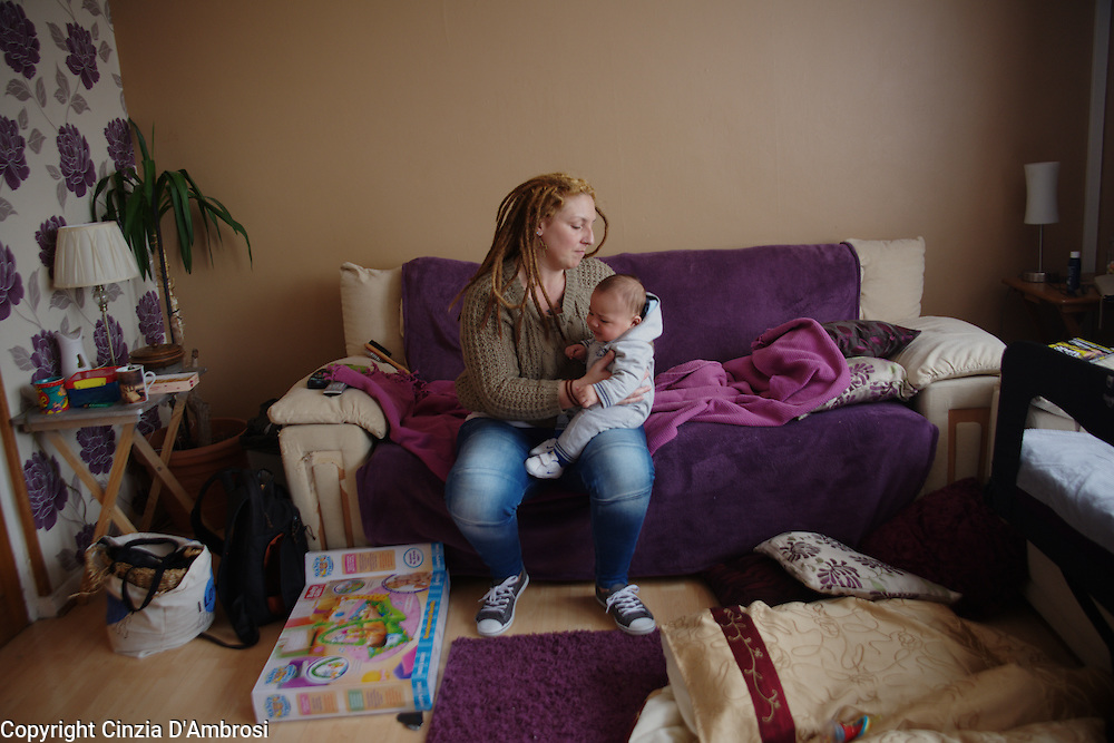 "Samantha is a London homeless, 35 year old single mum with three children aged 11, 9 and an infant of 5 months. She was renting privately until a few months ago when her landlord without much notice gave her an eviction notice that made her homeless. The council of Newham accepted her homeless status in June 2013,but did not perform its legal duty until February 2014.  Prior of this date and to this day, she has relied on friends and family for a place to sleep in. Last February, the council offered an emergency hotel room in Birmingham. For Samantha this would have meant losing her part time work, up-rooting her children   from school and losing all the support from her family and friends. On these basis she refused to go. The council offered then  a hotel room in Ilford. In her words, ""she had to run away. It was filthy to the point that the bed had unwashed and stained covers, broken wardrobe and mould everywhere. The kitchen containing a single stove was serving 23 families. It had no fridge and no cupboards and dirty."" Shocked she went straight to the council to denounce the place. Admittedly, they sent her to another emergency hotel room, again in Ilford. Equally rotten, she took photo as evidence which have enabled her to put a case forward into review. However, months later she is still living an unsettled life causing her and her children anguish."
