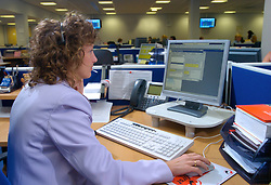 Local authority call centre; NE England 2004