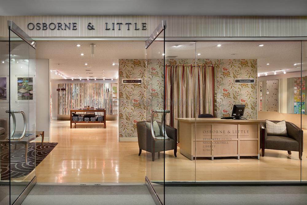 Osbourne & Little Showroom at Washington DC Design Center