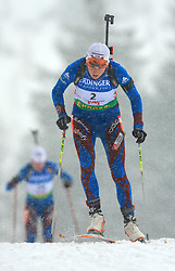 Pauline Macabies (FRA) at Women 15 km Individual at E.ON Ruhrgas IBU World Cup Biathlon in Hochfilzen (replacement Pokljuka), on December 18, 2008, in Hochfilzen, Austria. (Photo by Vid Ponikvar / Sportida)