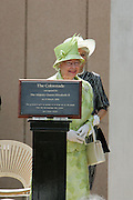 The Queen opens the newest edition and first ever alteration to the Opera House - The Colonnade- on the western, Harbour Bridge side of Sydney Opera House..Sydney Opera House's world famous exterior has remained unchanged since it was first opened by Her Majesty Queen Elizabeth 11 on 20th October, 1973. .Pics also show security at Opera House..[Total 30 pictures ].[ Non Exclusive ]. . An instant sale option is available where a price can be agreed on image useage size. Please contact me if this option is preferred.