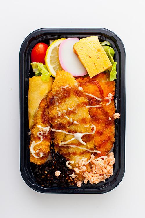 Fried Fish Bento from Ennju ($8.17)