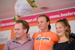 Chantal Blaak (Boels Dolmans) is the new rac leader after the 123 km Stage 3 of the Boels Ladies Tour 2016 on 1st September 2016 in Sittard Geleen, Netherlands. (Photo by Sean Robinson/Velofocus).
