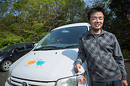 Takehiko Yoshizawa, 34 years old. Founder of Japan Car Sharing Association in Ishinomaki, Japan.