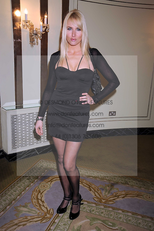 NANCY SORRELL at the 2009 South Bank Show Awards held at The Dorchester, Park Lane, London on 20th January 2009.