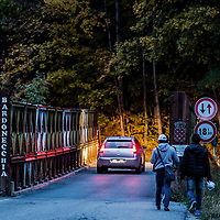 Bardonecchia 01/10/2017 Migrants attempt to reach France through the alpine passes of Valle Stretta and Colle della Scala