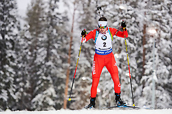 March 8, 2019 - –Stersund, Sweden - 190308 Megan Bankes of Canada competes in the Women's 7.5 KM sprint during the IBU World Championships Biathlon on March 8, 2019 in Östersund..Photo: Petter Arvidson / BILDBYRÃ…N / kod PA / 92247 (Credit Image: © Petter Arvidson/Bildbyran via ZUMA Press)
