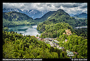 Hohenschwangaun Castle<br /> Germany - May 2014