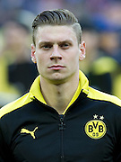 Lukasz Piszczek of Dortmund before the UEFA Champions League Final football match between Borussia Dortmund and Bayern Munich at Wembley Stadium in London on May 25, 2013...England, London, May 25, 2013..Picture also available in RAW (NEF) or TIFF format on special request...For editorial use only. Any commercial or promotional use requires permission...Photo by © Adam Nurkiewicz / Mediasport