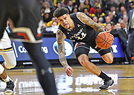 Cincinnati Bearcats guard Jarron Cumberland (34) drives with the ball against the Wichita State Shockers during the second half at Charles Koch Arena.