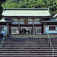 Heiden at Terukuni Shrine in Kagoshima, Japan<br />
