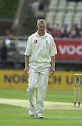 31/05/2002.Sport -Cricket - 2nd NPower Test -Second Day.England vs Sri Lanka.Matthew Hoggard. [Mandatory Credit Peter Spurrier:Intersport Images]