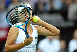 November 10, 2018 - Prague, Czech Republic - Sofia Kenin of the United States in action during the 2018 Fed Cup Final between the Czech Republic and the United States of America in Prague in the Czech Republic. (Credit Image: © Slavek Ruta/ZUMA Wire)