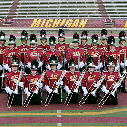 Marching Band in new uniforms