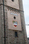 Enns famous tower, commemorating the incorporation into a city in 1212. Upper Austria, Austria