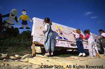 Summer Festival, Children's Art, Little Buffalo State Park, Perry Co., PA