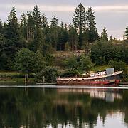 Abandoned Fishing Boat - Raymond, WA