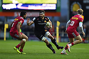Don Armand of Exeter Chiefs charges forward during the Aviva Premiership match between Exeter Chiefs and Harlequins at Sandy Park, Exeter, United Kingdom on 19 November 2017. Photo by Graham Hunt.