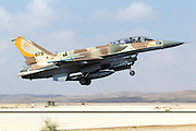 Israeli Air Force (IAF) F-16I Fighter jet at takeoff