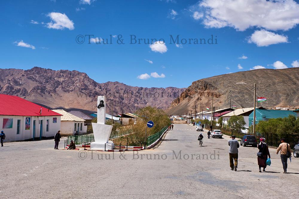 Tadjikistan, Asie centrale, Gorno Badakhshan, Haut Badakhshan, le Pamir, la Route du Pamir, ville de Mourgab à 3600m d'altitude // Tajikistan, Central Asia, Gorno Badakhshan, the Pamir, Wakhan valley, the Pamir highway, Murghab city at 3600 m altitude