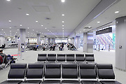 international departure waiting hall at Narita airport Tokyo Japan