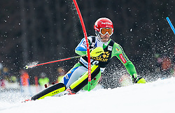 KRANJEC Zan of Slovenia during the Audi FIS Alpine Ski World Cup Men's Slalom 58th Vitranc Cup 2019 on March 10, 2019 in Podkoren, Kranjska Gora, Slovenia. Photo by Matic Ritonja / Sportida