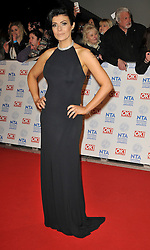 Kym Marsh arrives At The annual National Television Awards 2013, The O2 Arena, Greenwich, London, UK, January 28, 2013. Photo by i-Images.