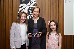 19/08/2015<br /> Pictured at the opening night of 'The Bog of Cats' by Marina Carr at The Abbey Theatre were (L-R) Rosa Hickey, Marina Carr and Juliette Hickey.