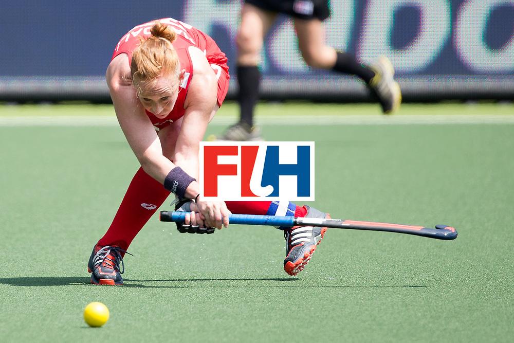 THE HAGUE - Rabobank Hockey World Cup 2014 - 2014-06-01 - WOMEN - England - USA - Lauren Crandall.<br /> Copyright: Willem Vernes